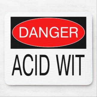 Danger - Acid Wit Funny Safety T-Shirt Mug Hat Etc Mouse Pad