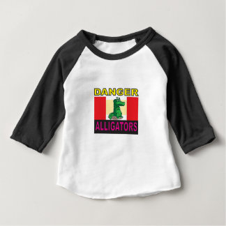 danger aligators baby T-Shirt