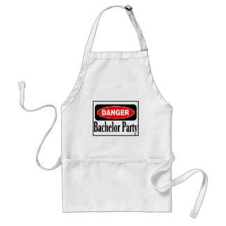 Danger Bachelor Party Standard Apron