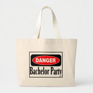 Danger Bachelor Party Jumbo Tote Bag