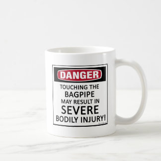 Danger Bagpipe Coffee Mug