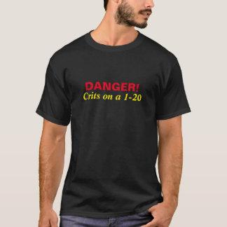 DANGER!  Crits on a 1-20 T-Shirt