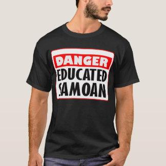 Danger Educated Samoan -- T-Shirt