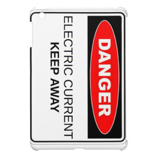Danger Electric Current iPad Mini Cover