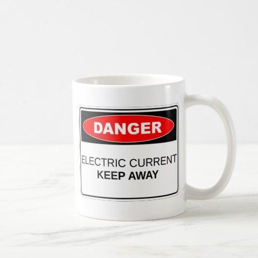 Danger Electric Current Coffee Mug