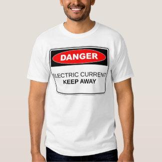 Danger Electric Current T-shirt