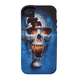 Danger Fire Skull Image Vibe iPhone 4 Cover