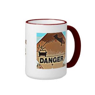 Danger: Flying/Landing Airplanes...Private Pilot Mugs