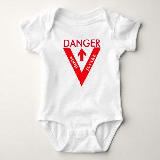 Danger Food Intake Baby Bodysuit