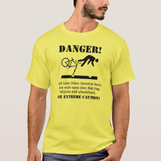 DANGER! Hazardous Tracks T-Shirt