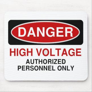 Danger High Voltage Mouse Pad