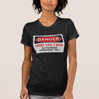 Danger High Voltage Tees