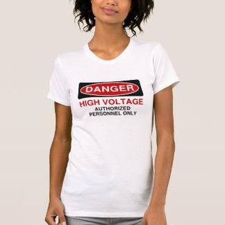 Danger High Voltage Tshirt