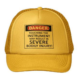 Danger Instrument Mesh Hats