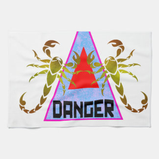 Danger Kitchen Towels