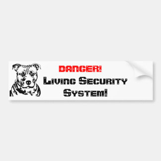 DANGER! , Living seconds… Bumper Sticker