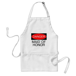 Danger - Maid Of Honor Funny Wedding T-Shirt Mug Apron