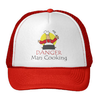 Danger Man Cooking Cap