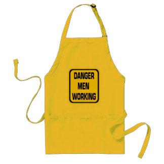 Danger Men Working Apron