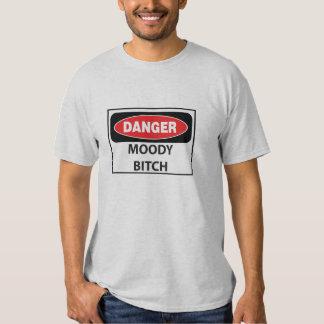 Danger-Moody-Bitch_whiteT T Shirts
