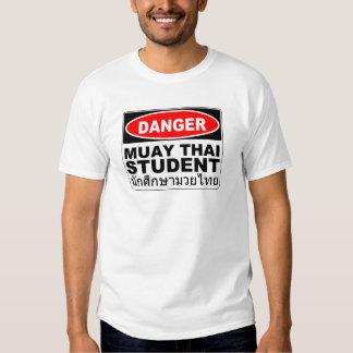 Danger Muay Thai Student T Shirt