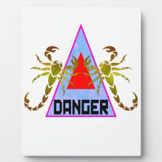 Danger Plaque
