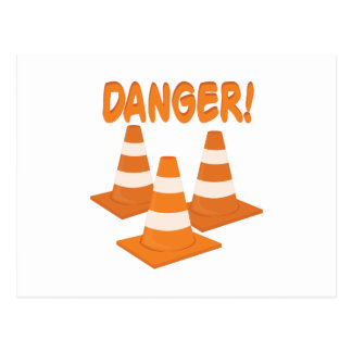 Danger Post Card