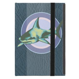 danger sharks, caution iPad mini case