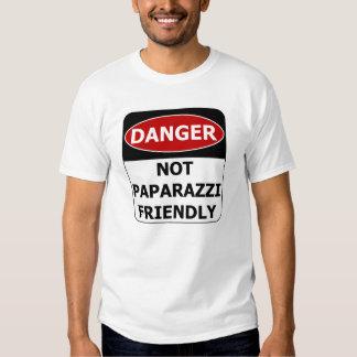 Danger Sign - Not Paparazzi Friendly T Shirts