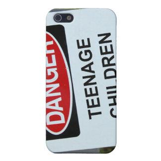 Danger Sign Teenage Children iPhone 5 Cover