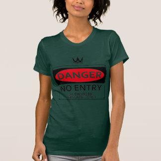 DANGER signboard T-shirts