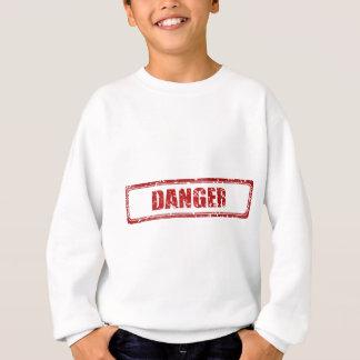 Danger stamp sweatshirt