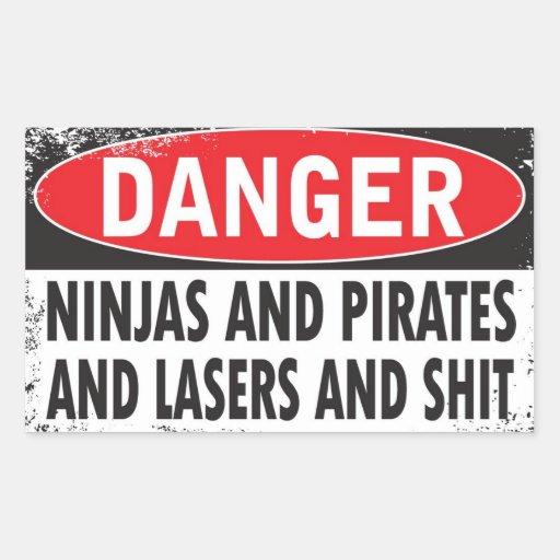 DANGER! Stickers