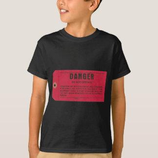 Danger Tag Kids Shirts