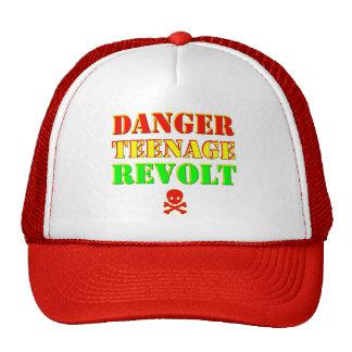 Danger Teenage Revolt Cap