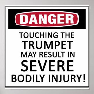 Danger Trumpet Posters