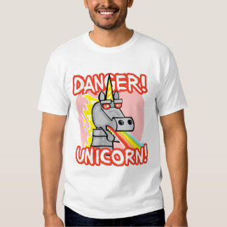 Danger! Unicorn! Tees