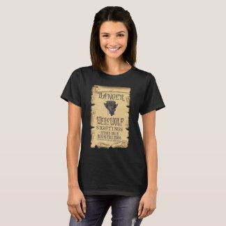Danger Werewolf Sightings T-Shirt