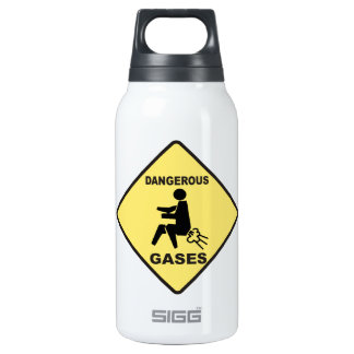 Dangerous Gases 0.3 Litre Insulated SIGG Thermos Water Bottle