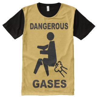 Dangerous Gases All-Over Print T-Shirt