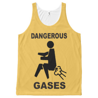 Dangerous Gases All-Over Print Tank Top