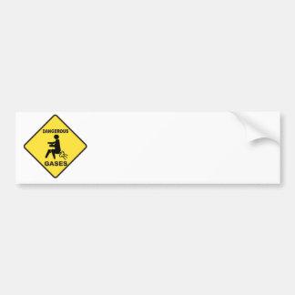 Dangerous Gases Bumper Sticker