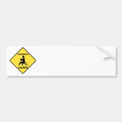 Dangerous Gases Bumper Stickers