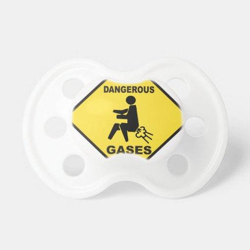 Dangerous Gases Baby Pacifier