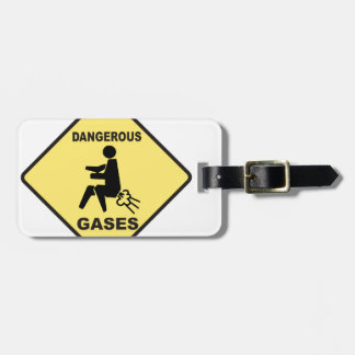Dangerous Gases Tag For Bags