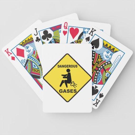 Dangerous Gases Poker Cards