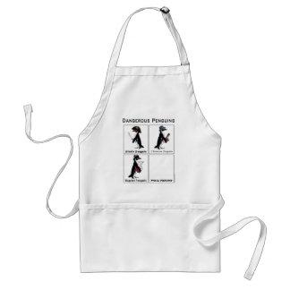 dangerous penguins standard apron
