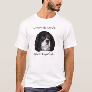 Dangerously Adorable tri colored Cav T-Shirt