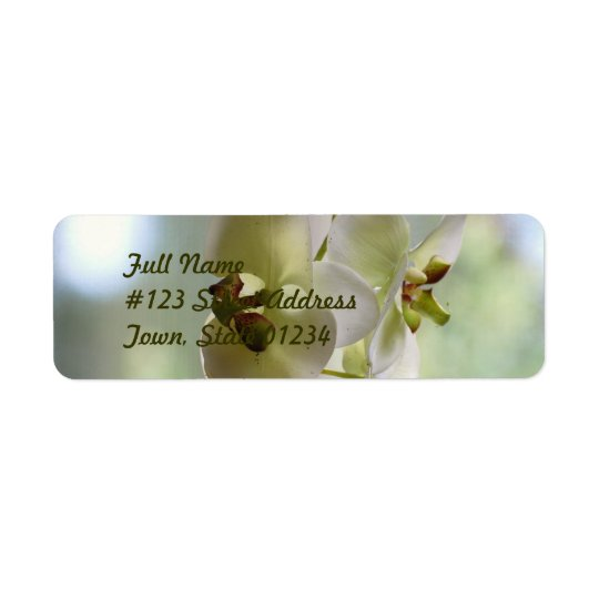 Dangling Orchid  Mailing Labels