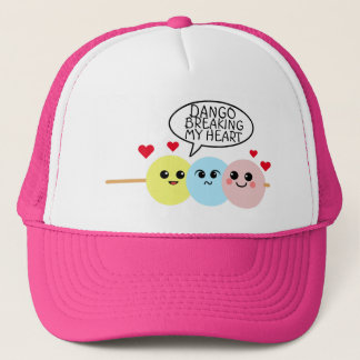Dango Breaking My Heart Trucker Hat